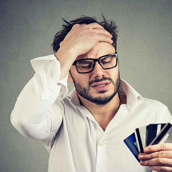 Man-in-debt