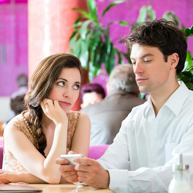 Partner disagreeing about money