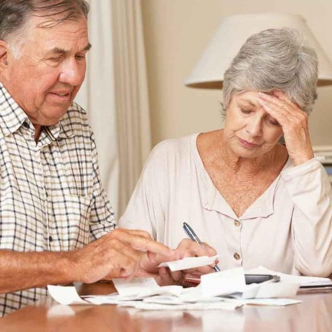 Seniors going over budget