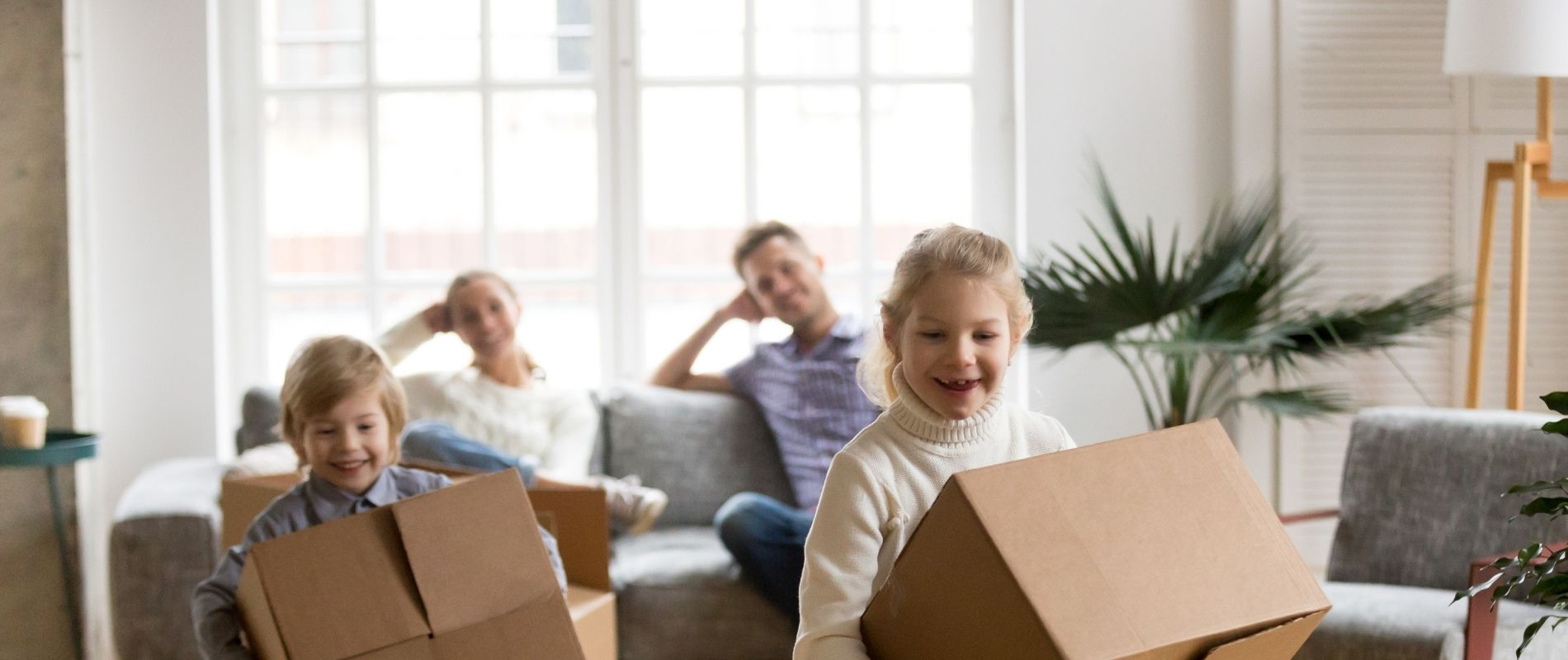 new home with children