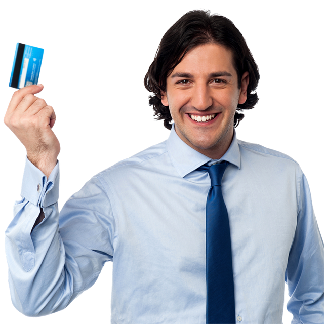 Millenial holding a secured credit card.png