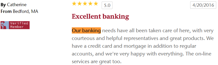 Excellent banking with HFCU