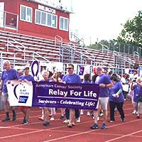 Burlington Relay for Life Opening Ceremony