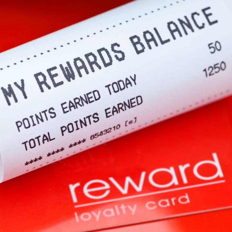 loyalty rewards receipt
