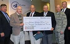 Board Memorial Award Presented to Retiree Group