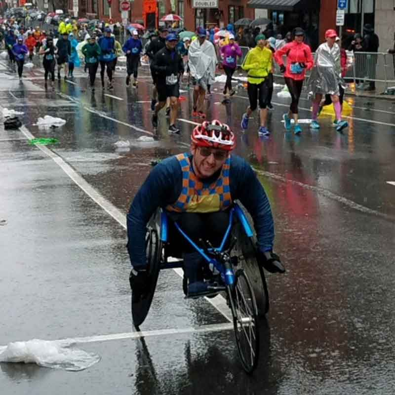 Support Pours In During Rainy Boston Marathon