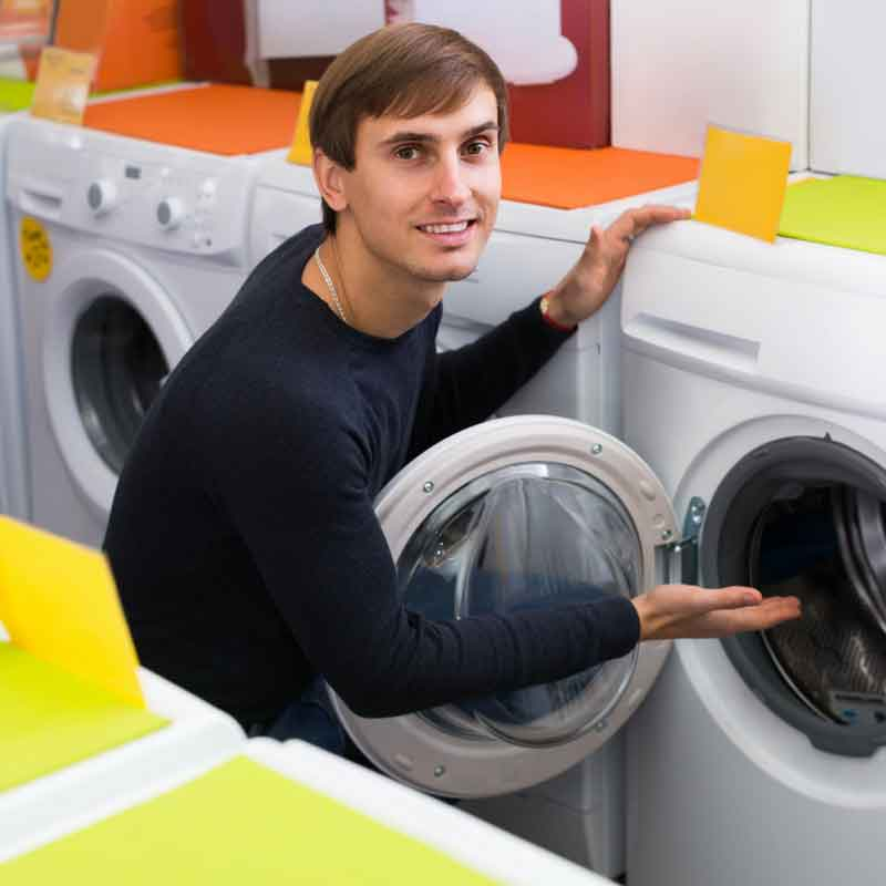 Man-buying-washing-machine