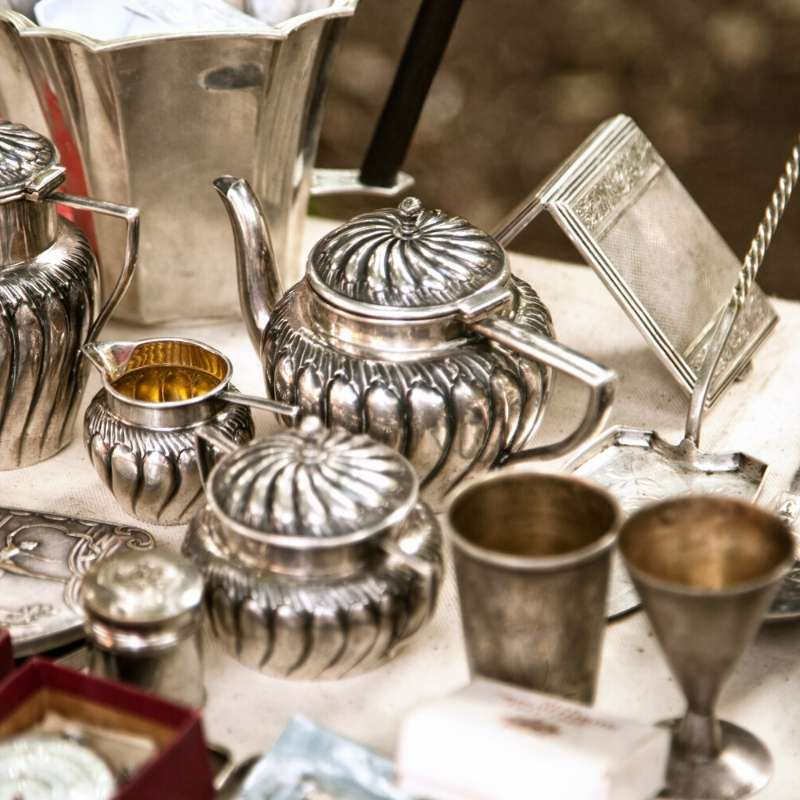 silver being liquidated from estate